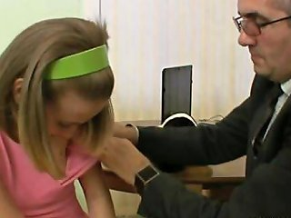 Mind Blowing Little Teen Gives Her Tutor A Ride